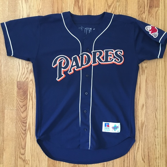 new arrivals 987b8 72be2 padres vintage jersey